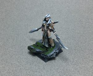 Female Druid Ishara Snowfinch