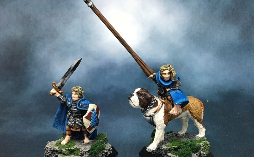 A Halfling and His Dog