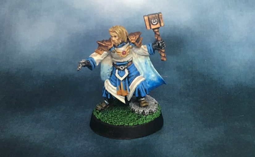 Mantic Kings of War: High Priest Berosos